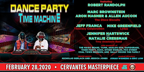 Dance Party Time Machine w/ Robert Randolph, Marc Brownstein + Many More tickets