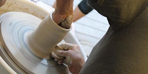 Pottery:  Open Studio, Tuesdays, 3:00 pm - 5:30 pm, 1/21/20 - 2/25/20