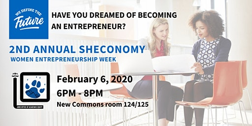 2nd Annual ShEconomy (Women Entrepreneurship Week)