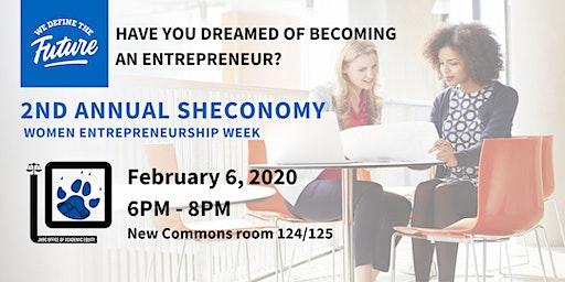 2nd Annual ShEconomy (Women Entrepreneurship Week)