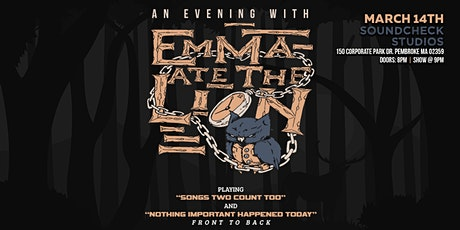 An Evening with Emma Ate The Lion at Soundcheck Studios tickets