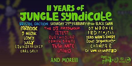 11 Years of Jungle Syndicate tickets