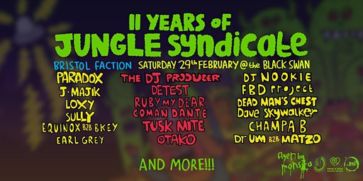 11 Years of Jungle Syndicate
