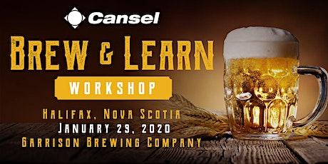 Cansel Brew & Learn Workshop in Halifax - January 29, 2020 tickets