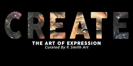 CREATE Art Exhibition tickets
