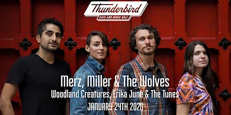 Merz, Miller & The Wolves tickets