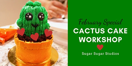Cake Decorating: Cactus Cake Workshop (Bonus Edition: Heart)