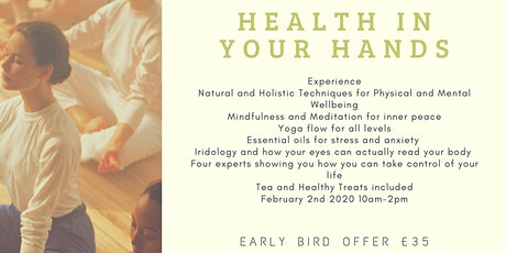 HEALTH IN YOUR HANDS tickets