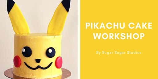 Cake Decorating: Pikachu Cake Workshop