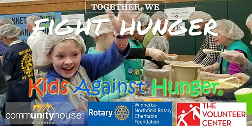 10th Annual Kids Against Hunger Food Packing