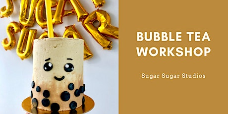 Cake Decorating: Bubble Tea Cake Workshop tickets