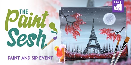 "Paint and Sip in Downtown Riverside, CA – ""A Night in Paris"" tickets"