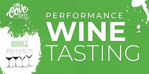 Riedel Wine Tasting featuring the Performance Collection
