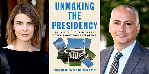 Susan Hennessey and Benjamin Wittes at the Brattle Theatre