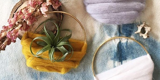 Airplant Decor with Ore + Wool