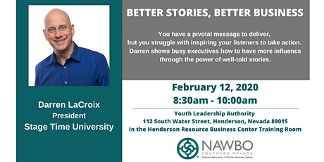 NAWBO Southern Nevada Presents: Propelling Women Workshop - Better Stories Better Business tickets