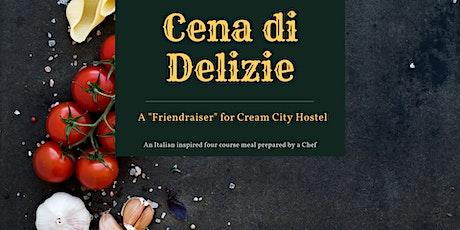 Cena di Delizie at Cream City Hostel tickets