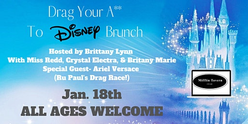 Drag Your A** To DISNEY Brunch!
