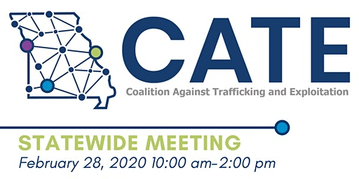 Coalition Against Trafficking and Exploitation Statewide Meeting