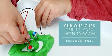 Curious Cubs for 3-5yrs: Monday 10:00am session (Term 1, 5 wks) tickets