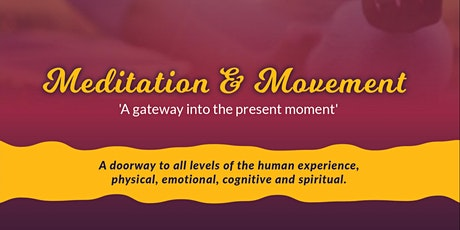 Meditation and Movement tickets