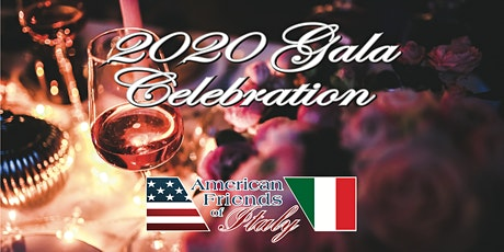 2020 American Friends of Italy Gala tickets