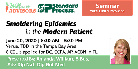 SP Seminar Smoldering Epidemics in the Modern Patient tickets