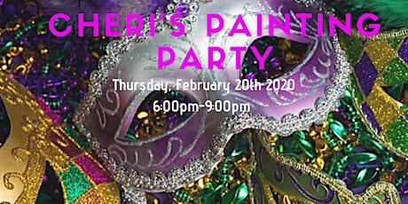 Cheri's Mardi Gras Painting Party tickets