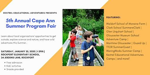 5th Annual Cape Ann Summer Program Fair
