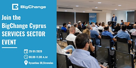 BigChange Cyprus Event - Services Sector tickets