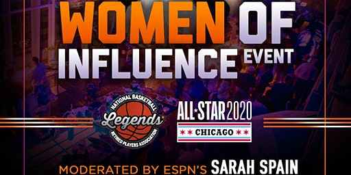 NBA All-Star Women of Influence Event - hosted by NBA Alumni