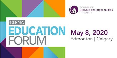 CLPNA Education Forum-Edmonton tickets