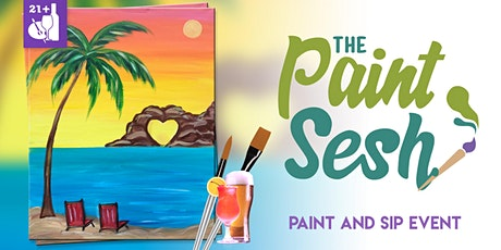 "Paint and Sip in Riverside, CA – ""Lovers Paradise"" tickets"