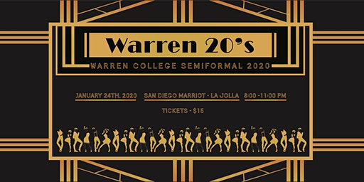 Warren 20s: 2020 Warren Semiformal