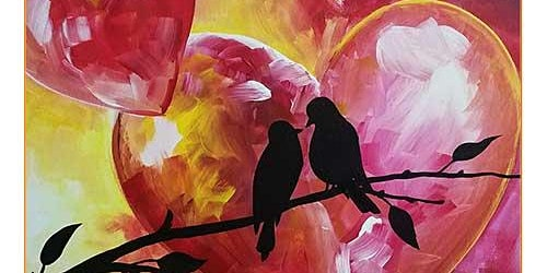 Love Birds Paint and Sip