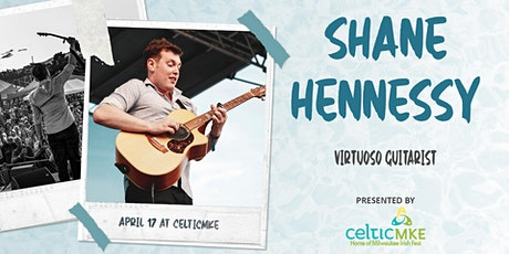 Shane Hennessy, Virtuoso Guitarist in Concert tickets