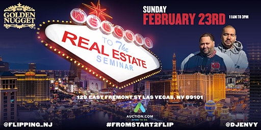 Cesar (@flipping_nj) & DJ Envy Real Estate Seminar