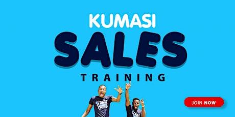 Kumasi sales training tickets