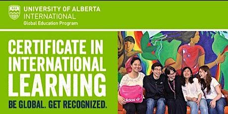 Certificate in International Learning Orientation tickets
