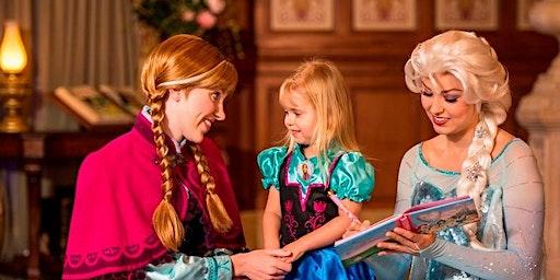 Elsa and Anna Dance Class