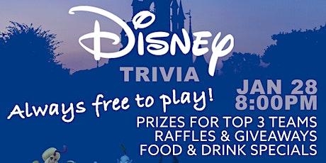 Disney Themed Trivia tickets