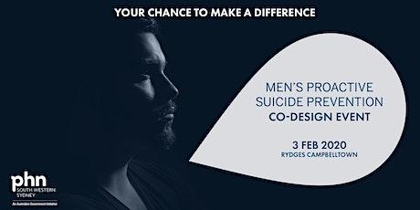 South Western Sydney PHN Men's Proactive Suicide Prevention Co-Design - Campbelltown tickets