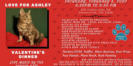 "Valentine's Dinner ""Love For Ashley"" tickets"