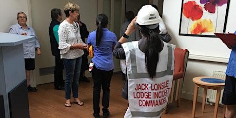 FEMT: Basic Mandatory Training/Fire & Evacuation Drill – QEC (RACS) Steele Haughton Unit tickets