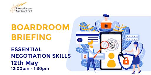 Boardroom Briefing - Essential Negotiation Skills