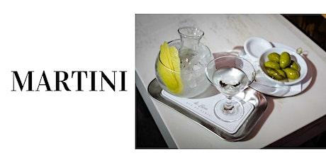 Trinkabenteuer: trockene Martinis und andere Gin Klassiker.  Tickets