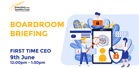 Boardroom Briefing - First Time CEO tickets