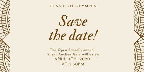 Clash On Olympus - Silent Auction and Escape Room event tickets