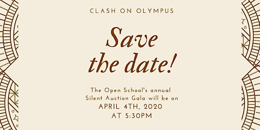 Clash On Olympus - Silent Auction and Escape Room event