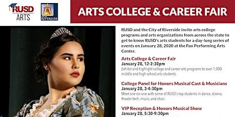 RUSD Arts College & Career Fair tickets